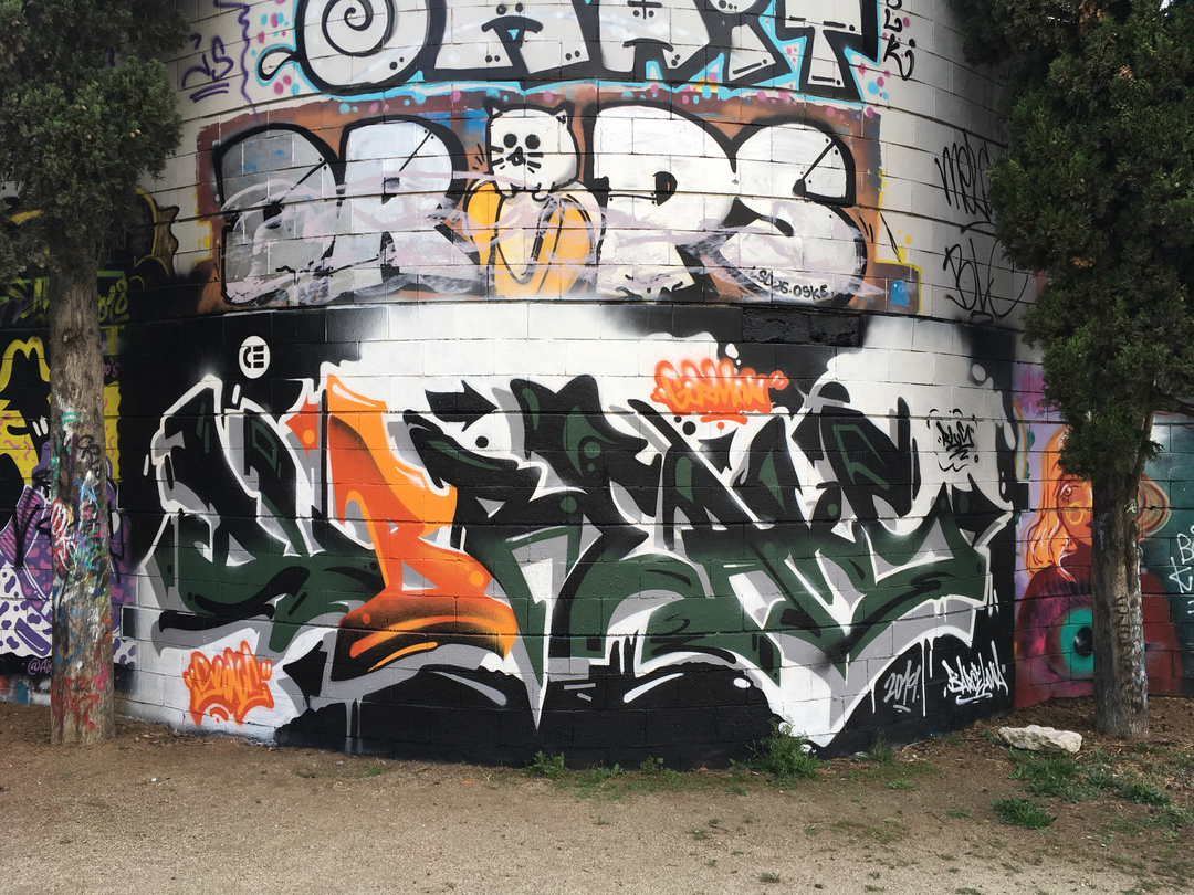 Wallspot - CE - Dubreaks - Barcelona - Drassanes - Graffity - Legal Walls -