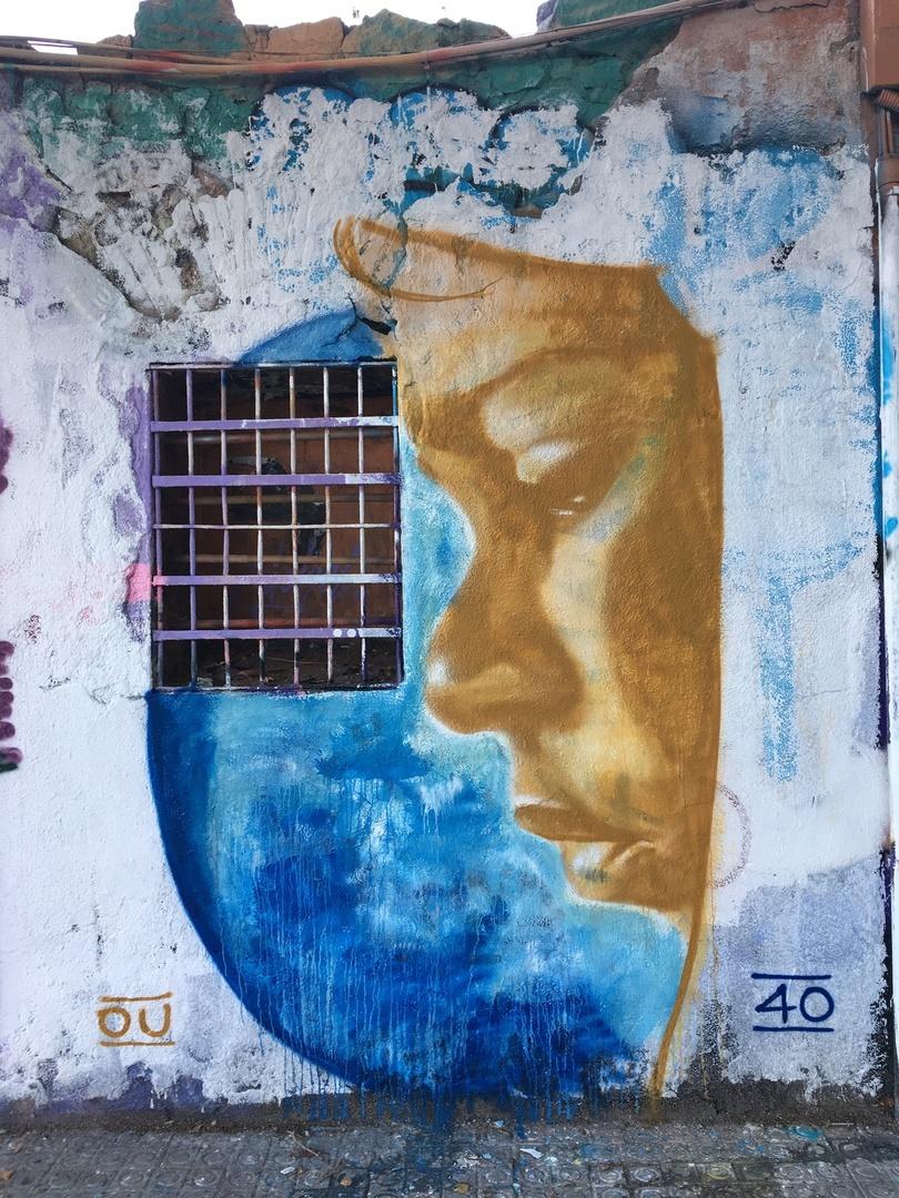 Wallspot - OU35 - Western Town - OU35 - Barcelona - Western Town - Graffity - Legal Walls -