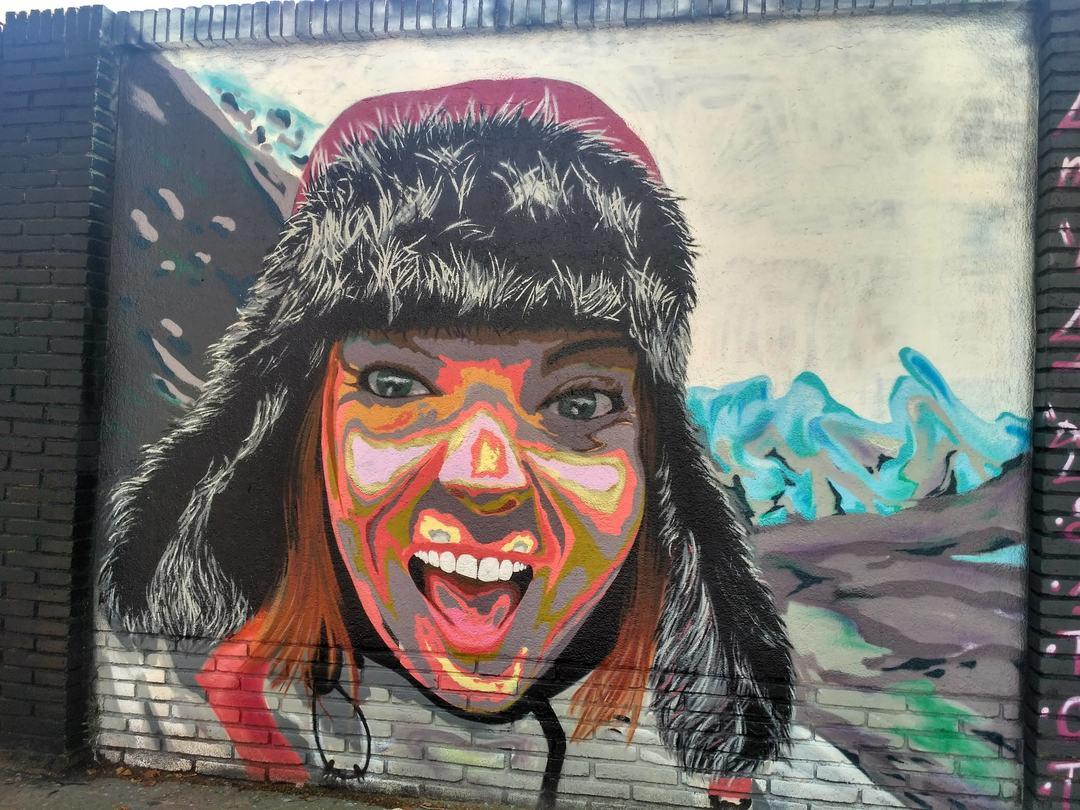 Wallspot - evalop - evalop - Proyecto 17/06/2019 - Barcelona - Selva de Mar - Graffity - Legal Walls - Il·lustració - Artist - ABSURE2000