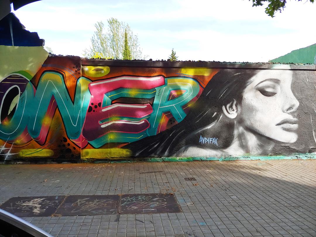 Wallspot - Audifax - Agricultura - Audifax - Barcelona - Selva de Mar - Graffity - Legal Walls - Letters, Illustration