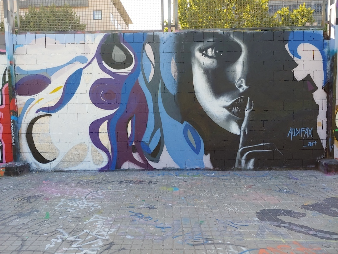 Wallspot - Audifax - Drassanes - Audifax - Barcelona - Drassanes - Graffity - Legal Walls - Illustration
