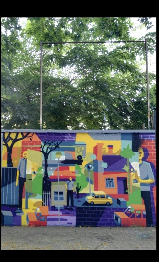 Wallspot - bemie -  - Barcelona - Agricultura - Graffity - Legal Walls -