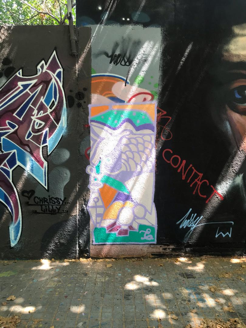 Wallspot - BEA - freedom - Barcelona - Agricultura - Graffity - Legal Walls - Altres