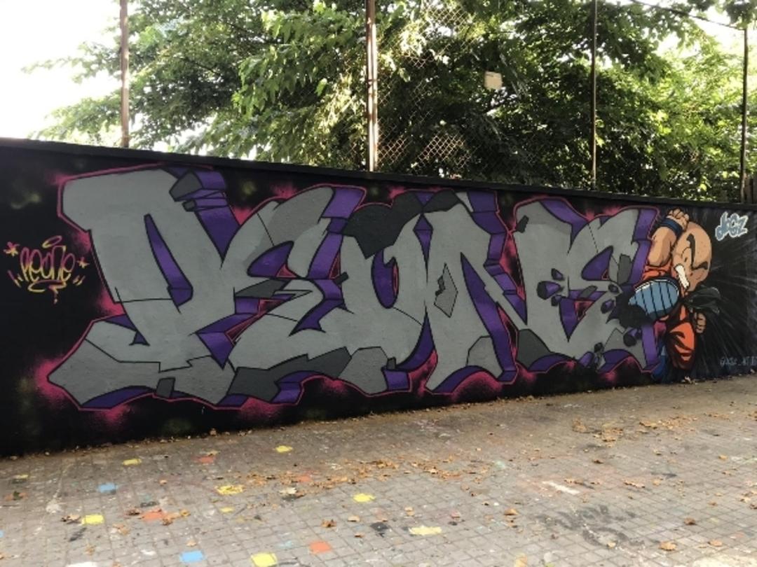 Wallspot - peone1 - PEONE - DOGZ - Barcelona - Agricultura - Graffity - Legal Walls - Lletres, Il·lustració