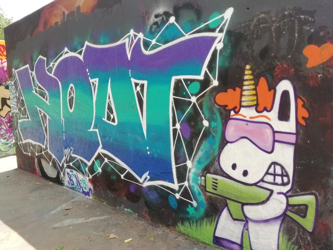 Wallspot - bussolaenodi - Nodi_BCN02 - Barcelona - Tres Xemeneies - Graffity - Legal Walls -