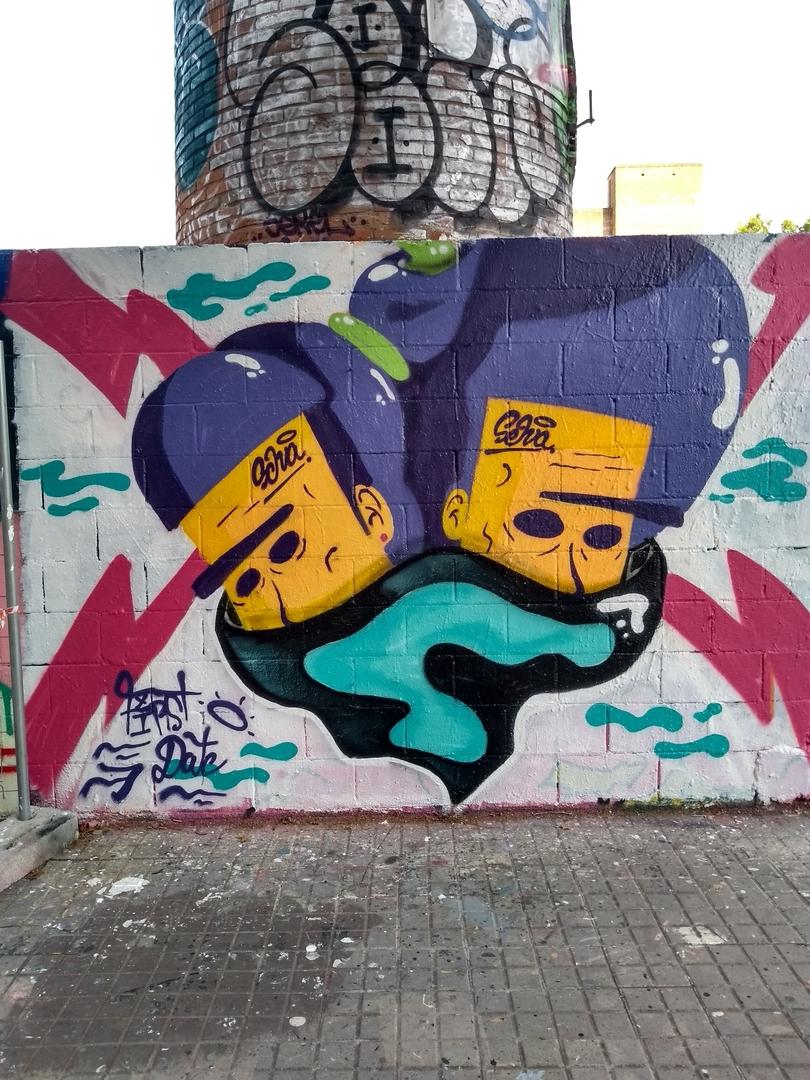 Wallspot - selva - 1rst Date - Barcelona - Poble Nou - Graffity - Legal Walls -