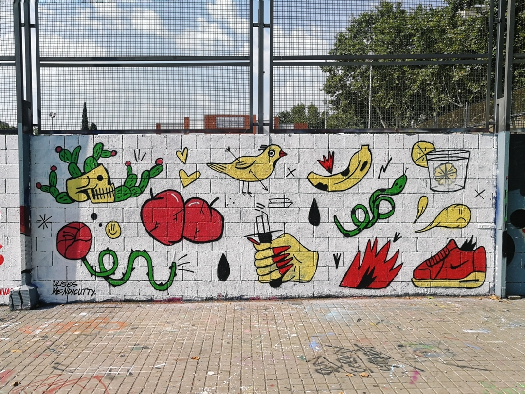 Wallspot - umendicutty -  - Barcelona - Drassanes - Graffity - Legal Walls -