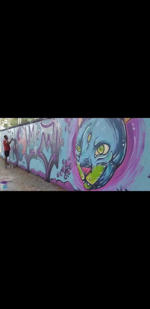 Wallspot - MEGUI - Ditroi du mar - Barcelona - Agricultura - Graffity - Legal Walls - ,