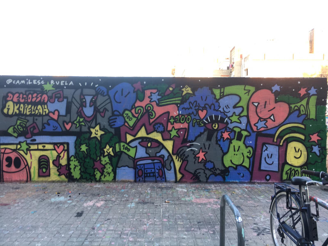 Wallspot - kamil escruela -  - Barcelona - Poble Nou - Graffity - Legal Walls -
