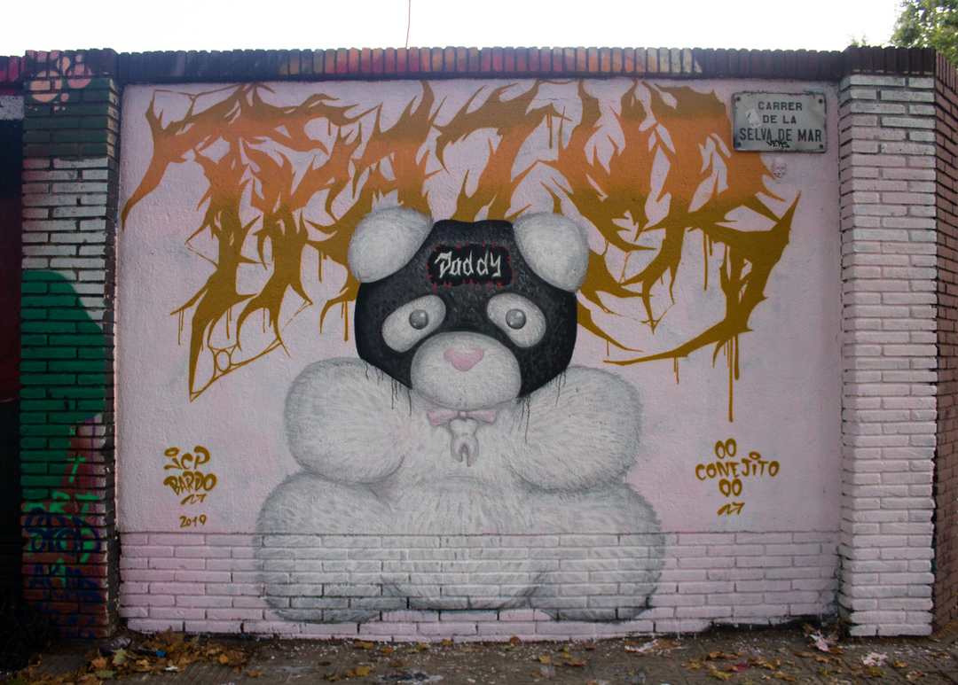 Wallspot - JCP Bardo -  - Barcelona - Selva de Mar - Graffity - Legal Walls -