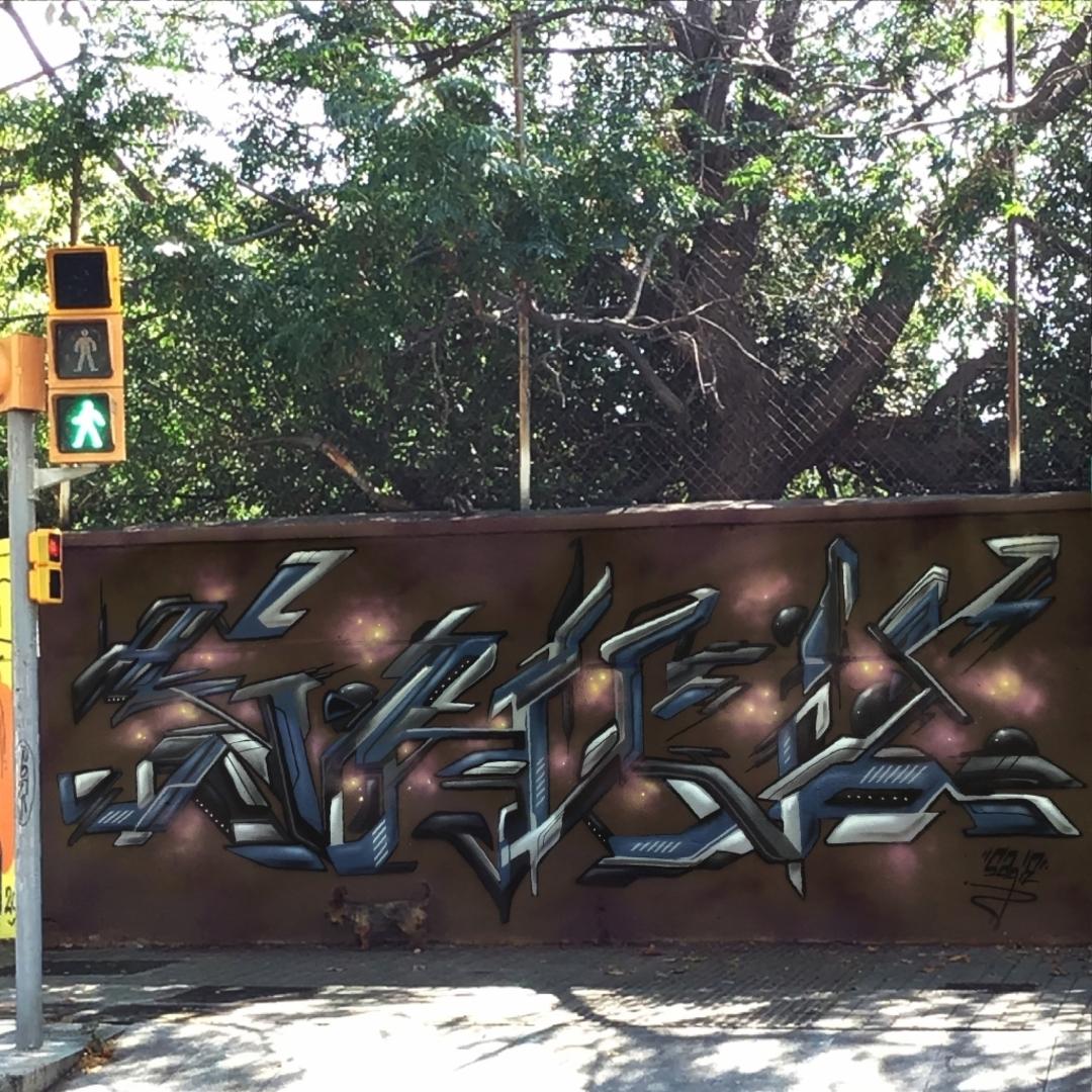 Wallspot - sagie -  - Barcelona - Agricultura - Graffity - Legal Walls -