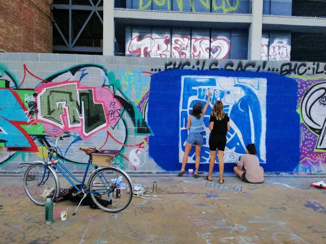 Wallspot - Bardo Somos - Tres Xemeneies - Bardo Somos - Barcelona - Tres Xemeneies - Graffity - Legal Walls - Il·lustració