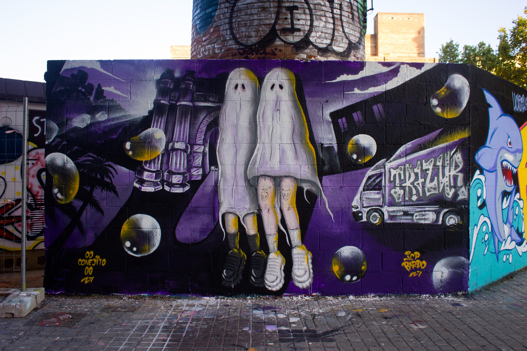Wallspot - JCP Bardo -  - Barcelona - Poble Nou - Graffity - Legal Walls -
