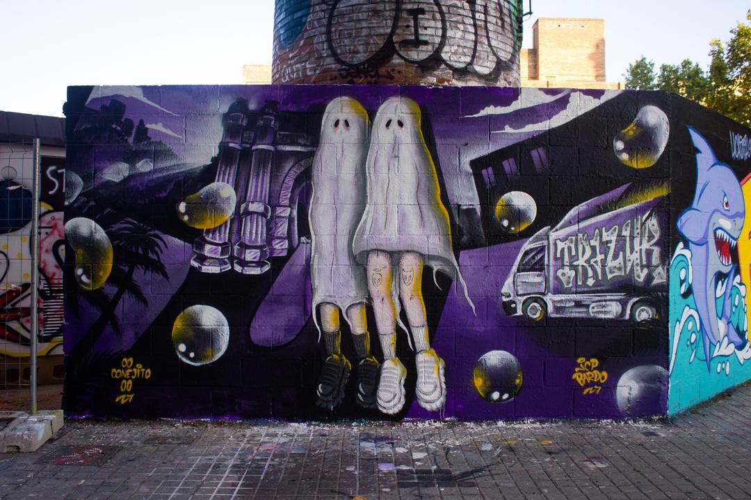 Wallspot - JCP Bardo -  - Barcelona - Poble Nou - Graffity - Legal Walls -