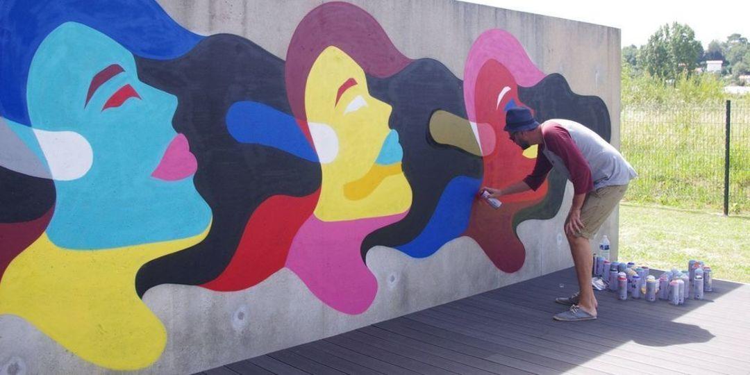 Wallspot - Bobi - Biarritz - Anglet - Bayonne - Rennes - Fac de Droit - Graffity - Legal Walls -