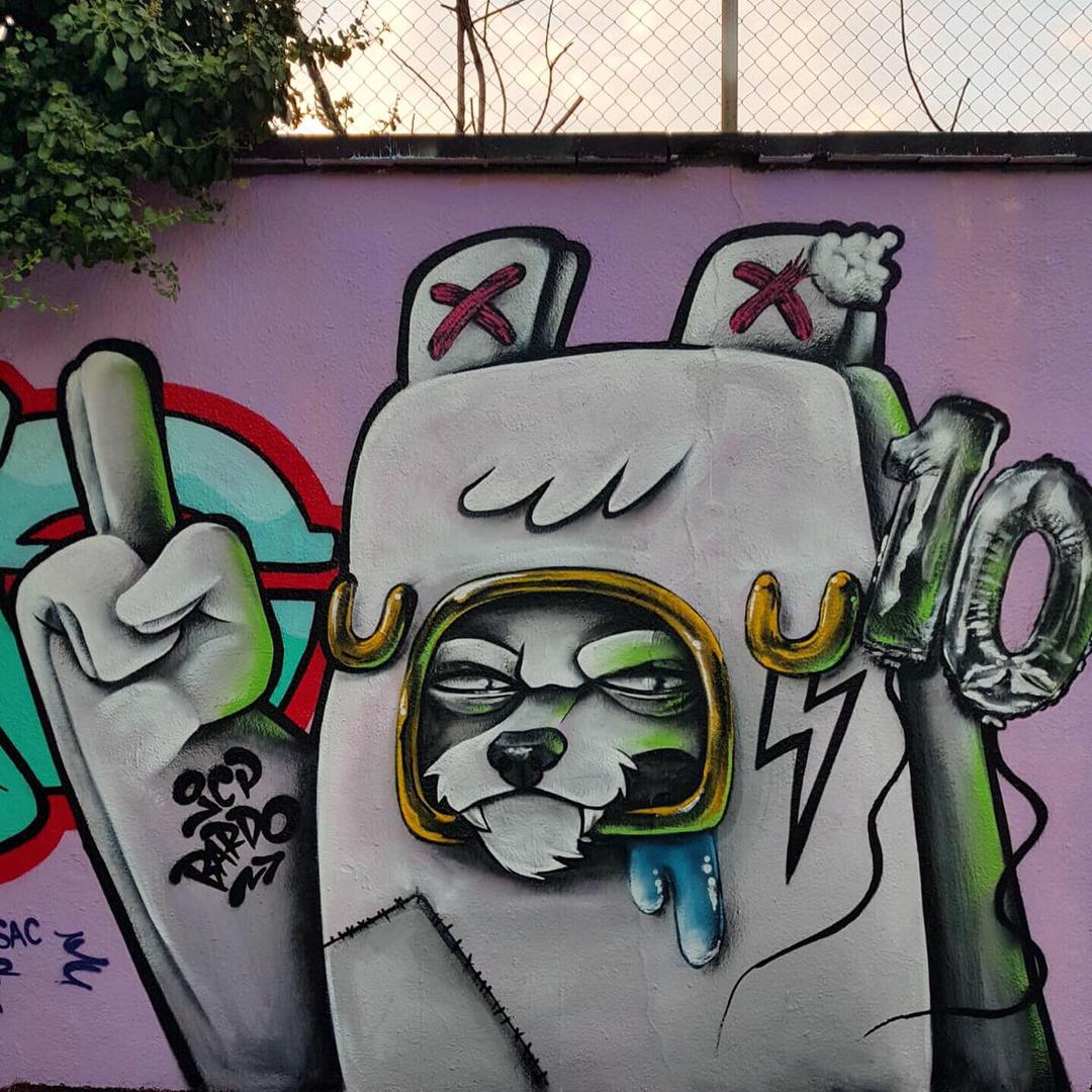 Wallspot - JCP Bardo - Agricultura - Barcelona - Agricultura - Graffity - Legal Walls - Il·lustració