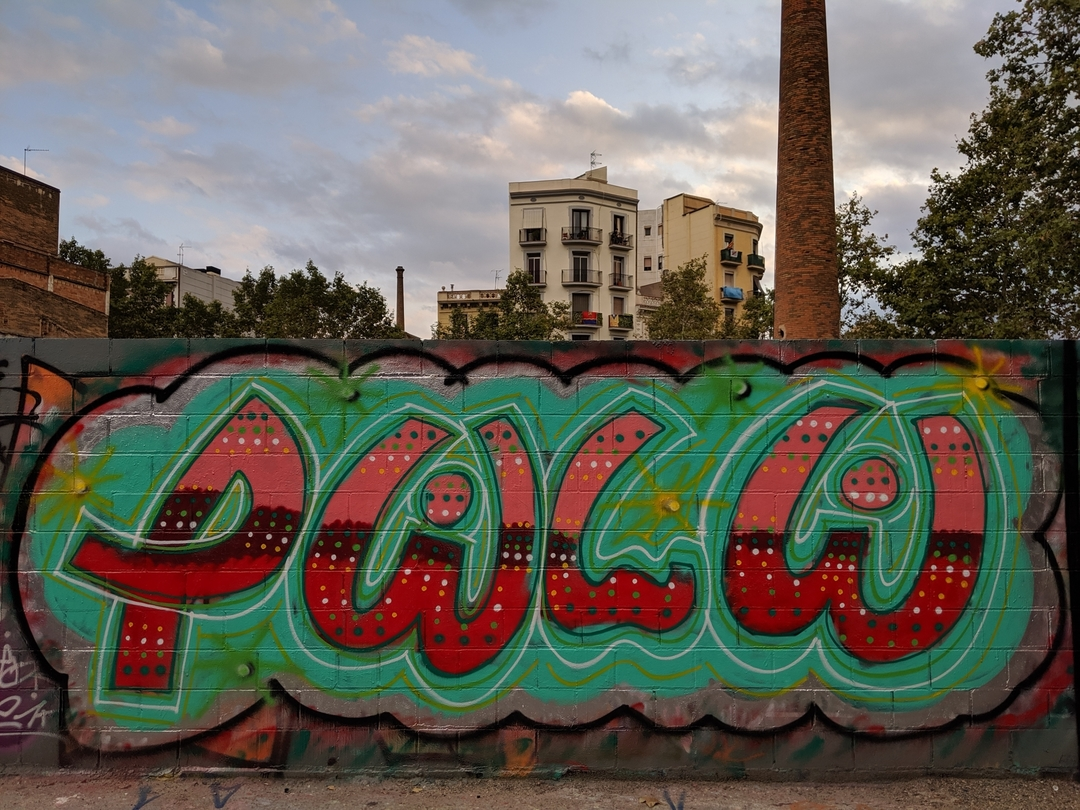 Wallspot - Powlow -  - Barcelona - Poble Nou - Graffity - Legal Walls - Letters