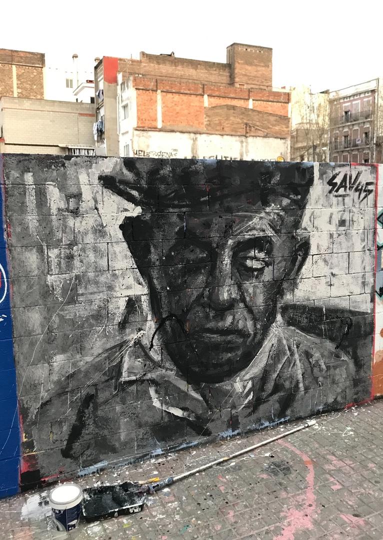 Wallspot - savf - Poble Nou - savf - Barcelona - Poble Nou - Graffity - Legal Walls -