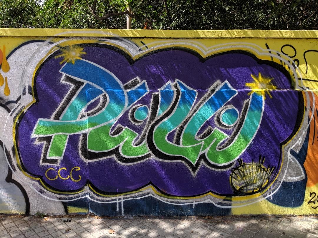 Wallspot - Powlow -  - Barcelona - Agricultura - Graffity - Legal Walls - Letters
