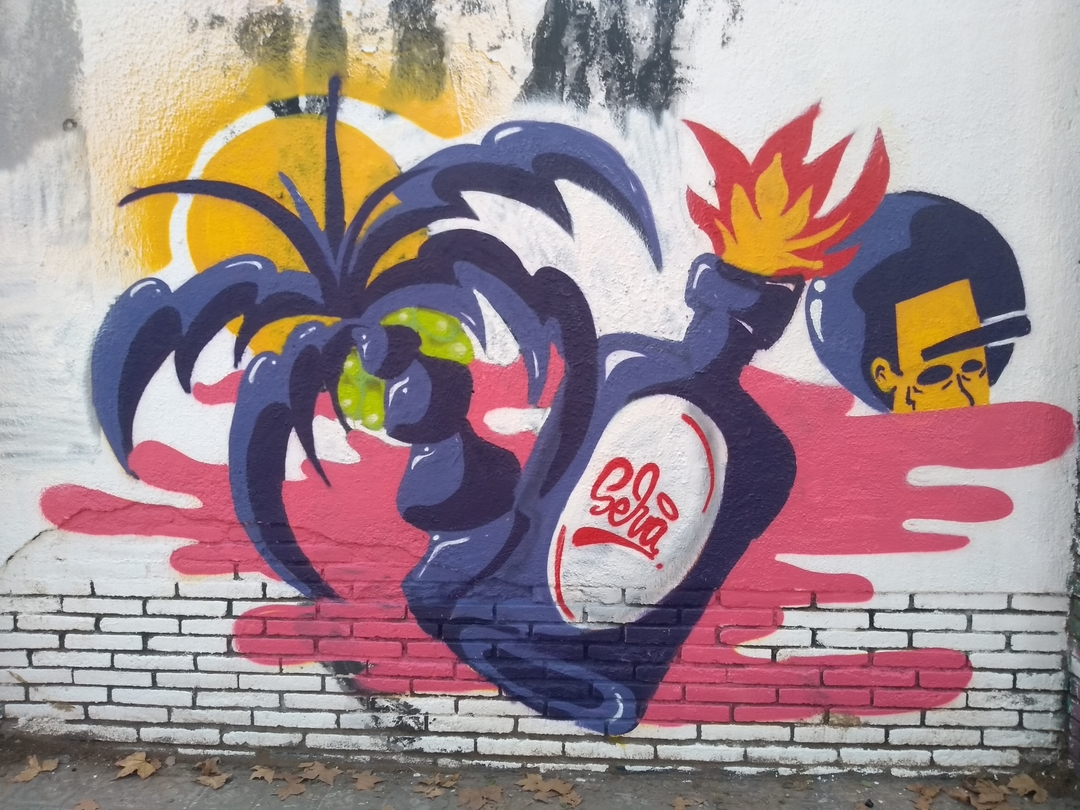 Wallspot - selva - Caribbean Night - Barcelona - Selva de Mar - Graffity - Legal Walls - Illustration