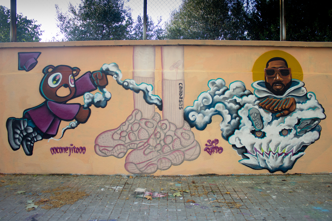 Wallspot - JCP Bardo - forever Ye - Barcelona - Agricultura - Graffity - Legal Walls - Il·lustració