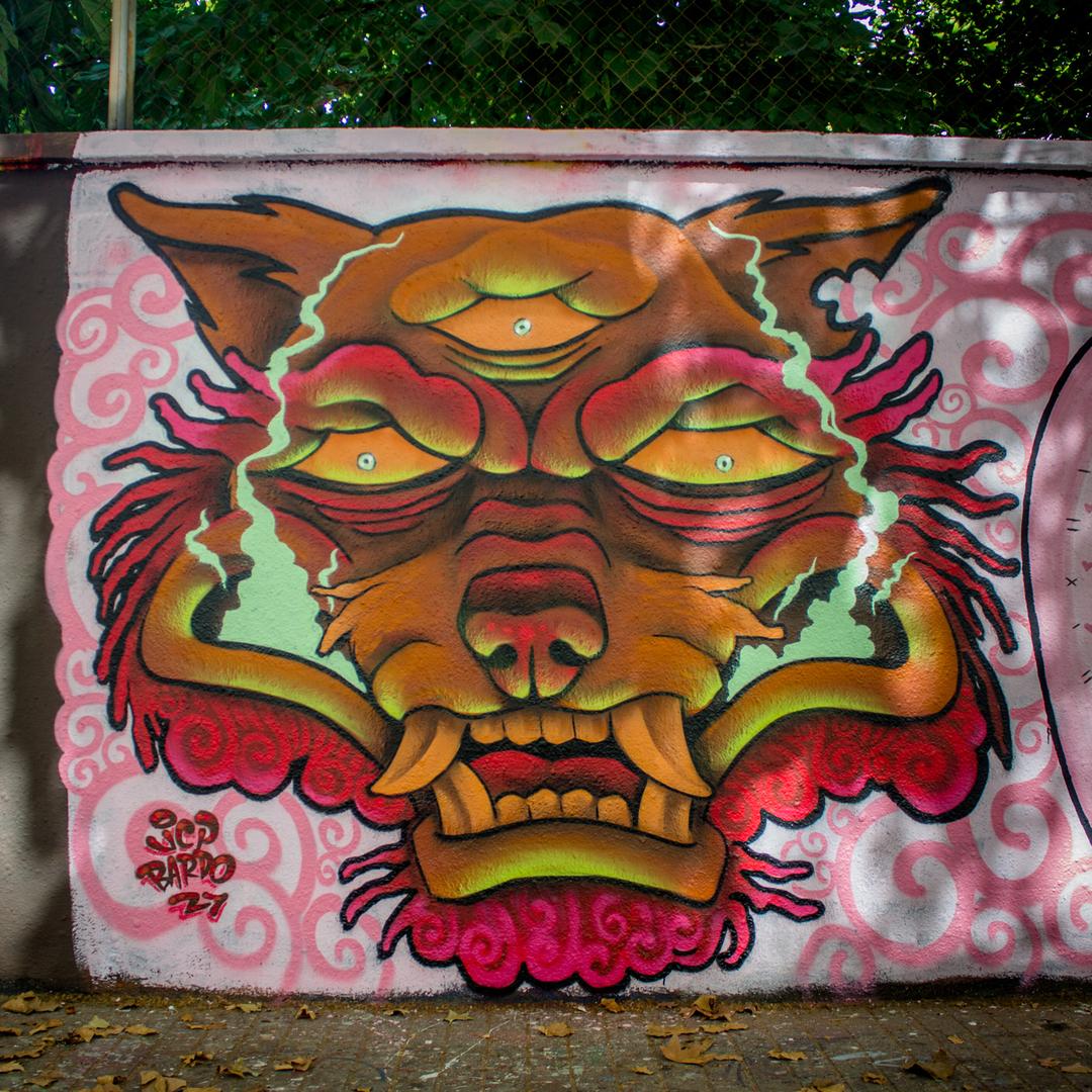 Wallspot - JCP Bardo - Agricultura - Barcelona - Agricultura - Graffity - Legal Walls - Illustration