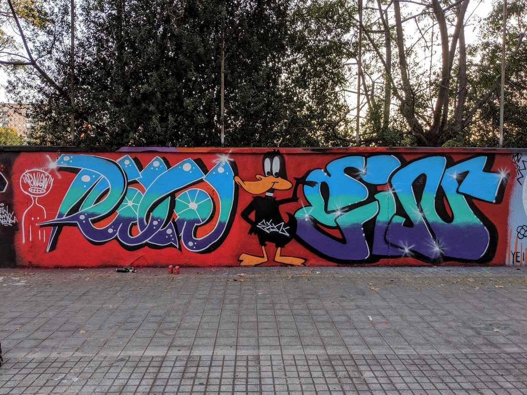 Wallspot - Powlow -  - Barcelona - Agricultura - Graffity - Legal Walls -