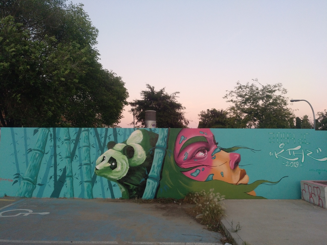 Wallspot - Uri KTHR -  - Barcelona - Parc de la Bederrida - Graffity - Legal Walls -