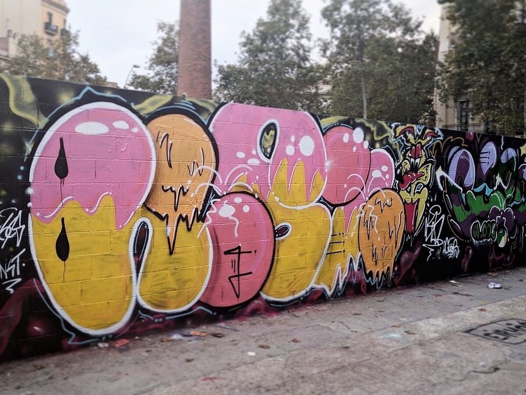 Wallspot - KSKONE - KSK1 ft. CLOOS - Barcelona - Poble Nou - Graffity - Legal Walls - ,