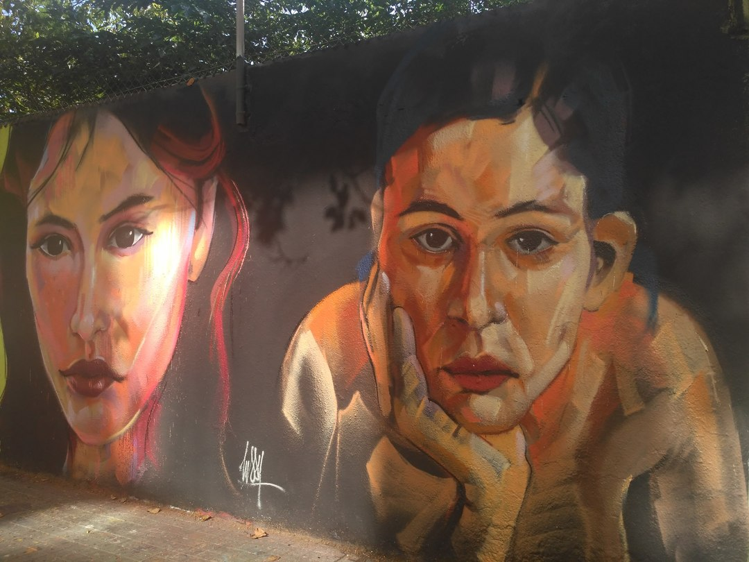 Wallspot - evalop - evalop - Project 17/10/2019 - Barcelona - Agricultura - Graffity - Legal Walls - Illustration - Artist - elmanu
