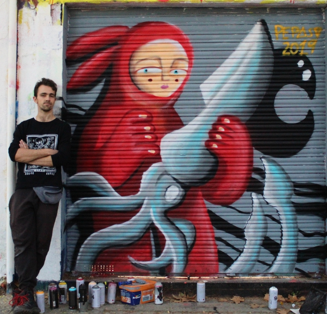 Wallspot - Pepasso - Western Town - Barcelona - Western Town - Graffity - Legal Walls - Illustration, Others