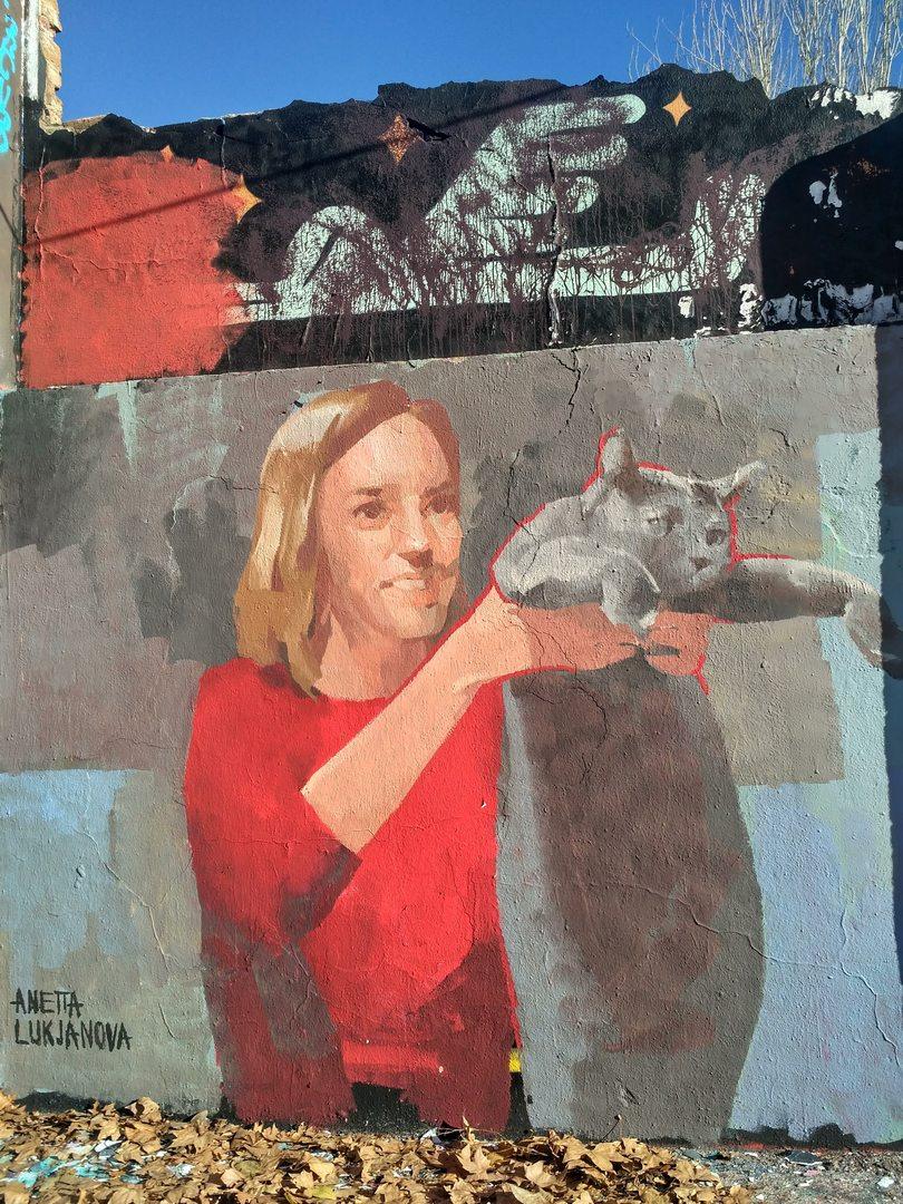 Wallspot - evalop - evalop - Project 12/12/2019 - Barcelona - Agricultura - Graffity - Legal Walls - Illustration - Artist - Ane.