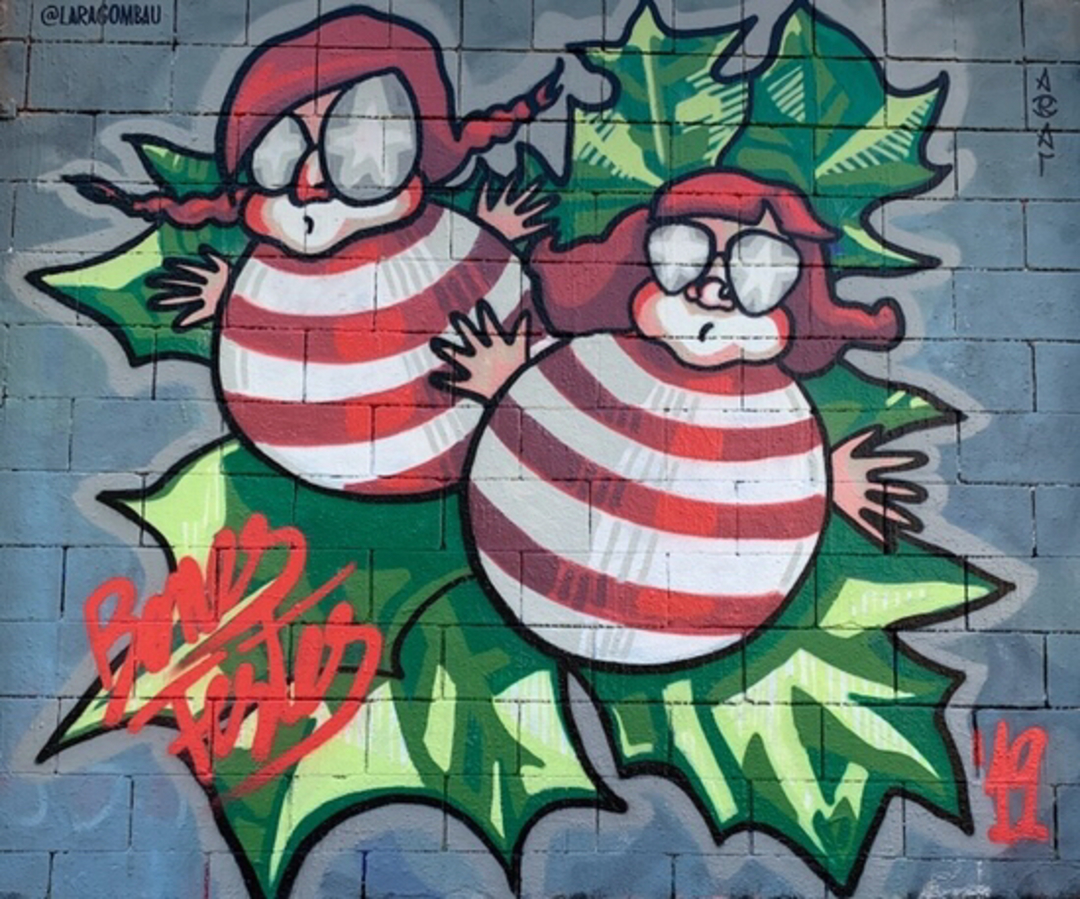 Wallspot - araL -  - Barcelona - Drassanes - Graffity - Legal Walls -