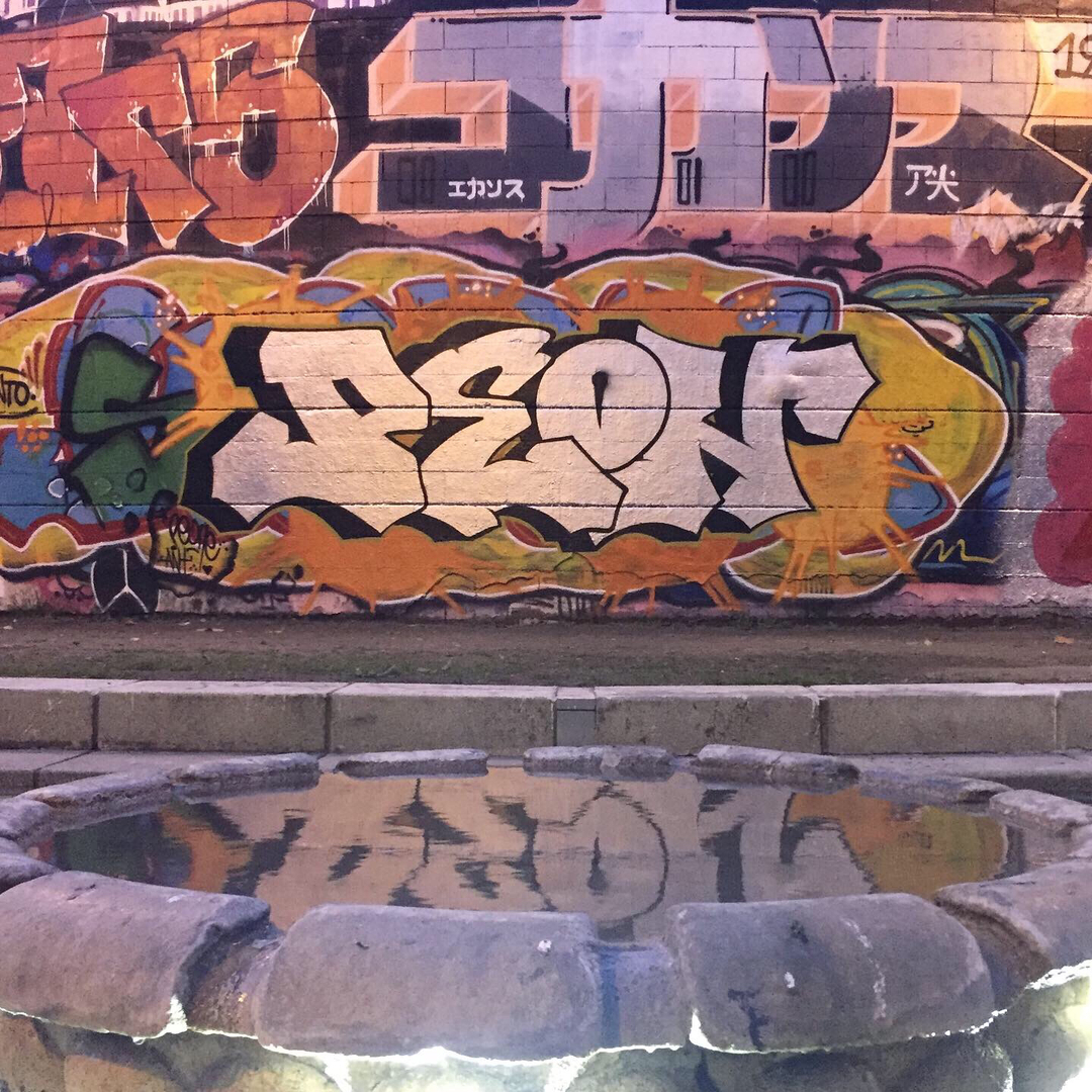 Wallspot - peone1 - PEON - Barcelona - Drassanes - Graffity - Legal Walls - Lletres