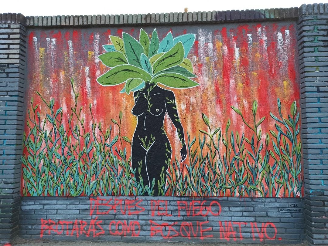 Wallspot - evalop - evalop - Project 14/02/2020 - Barcelona - Selva de Mar - Graffity - Legal Walls - Illustration - Artist - Consu