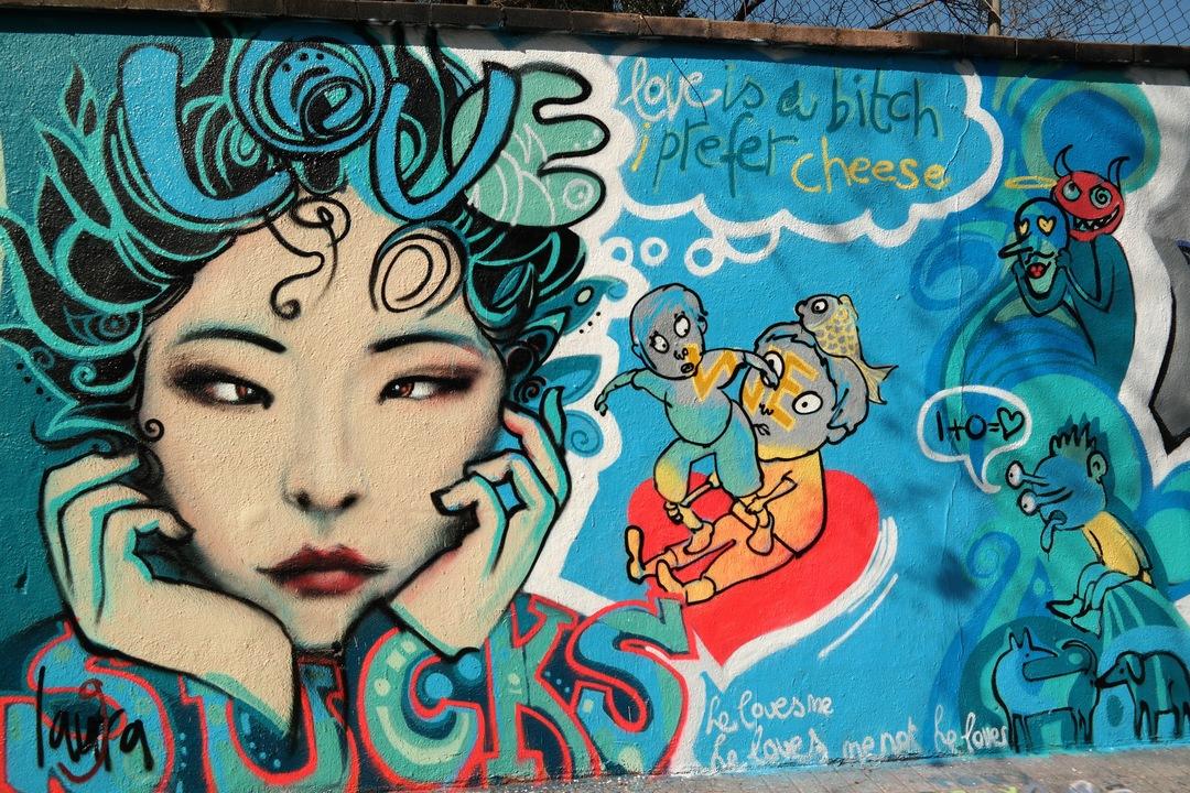 Wallspot - laura9 - Selva de Mar - laura9 - Barcelona - Selva de Mar - Graffity - Legal Walls -