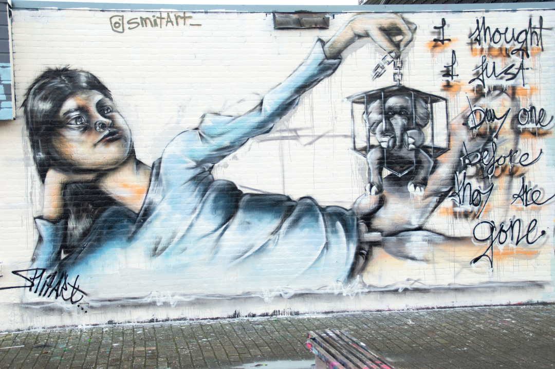 Wallspot - Smitart - Croos - Smitart - Rotterdam - Croos - Graffity - Legal Walls -