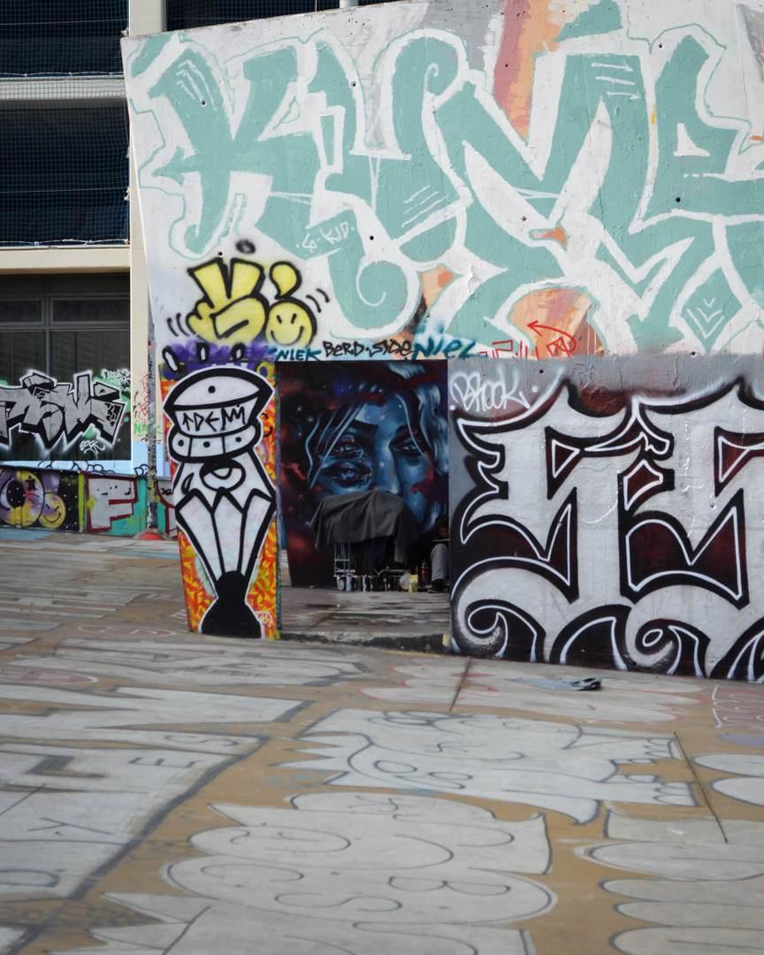 Wallspot - Splatrs - Graffiti collection - Barcelona - Tres Xemeneies - Graffity - Legal Walls - Illustration