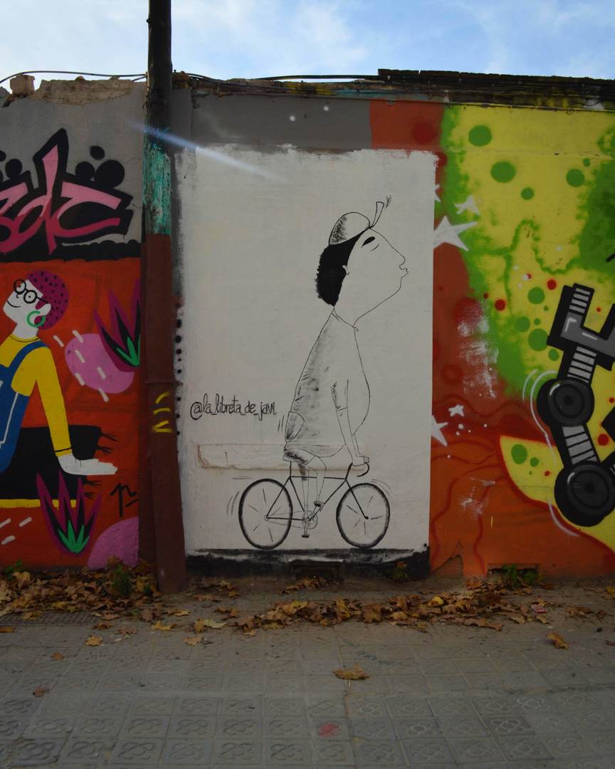 Wallspot - Splatrs - La Libreta de Javi - Barcelona - Selva de Mar - Graffity - Legal Walls -
