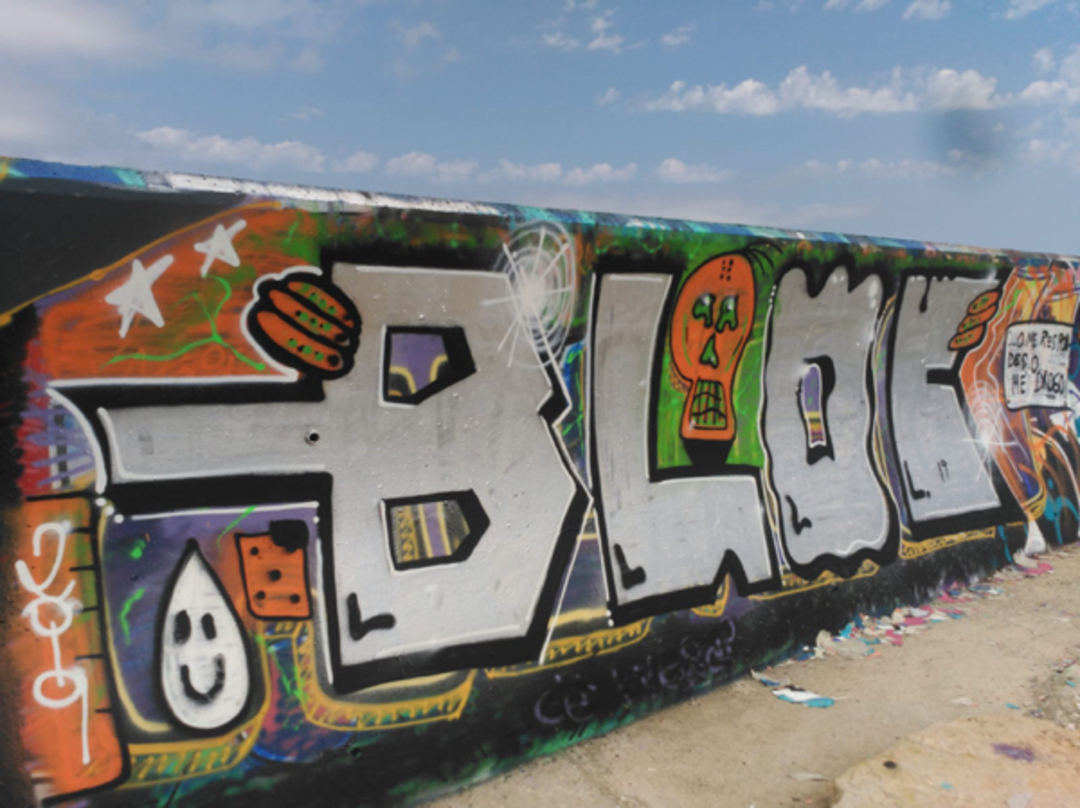 Wallspot - bloc - Forum beach - Barcelona - Forum beach - Graffity - Legal Walls - Letters