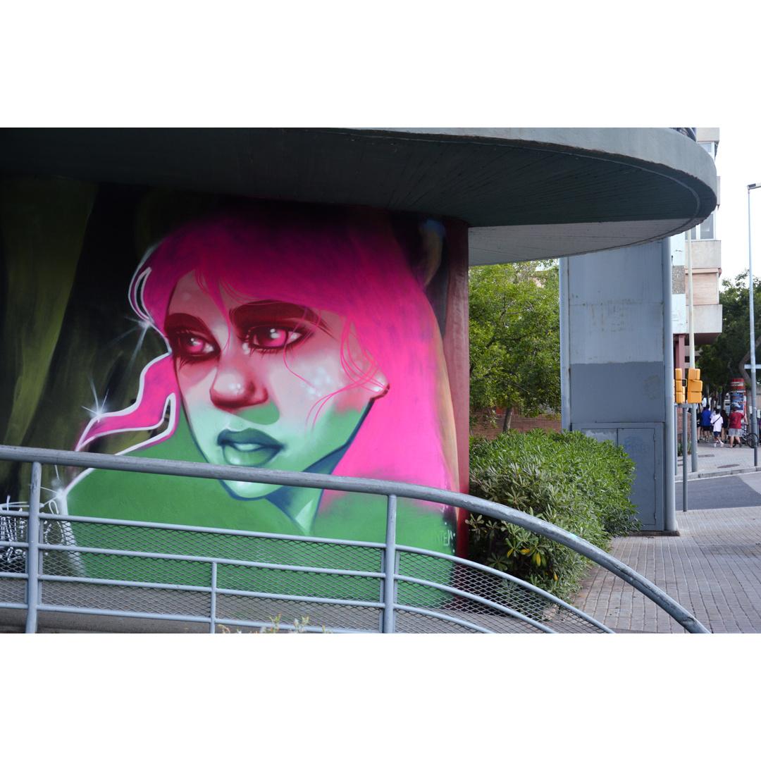 Wallspot - martantares - El pont de la ronda - martantares - Barcelona - El pont de la ronda - Graffity - Legal Walls - Il·lustració