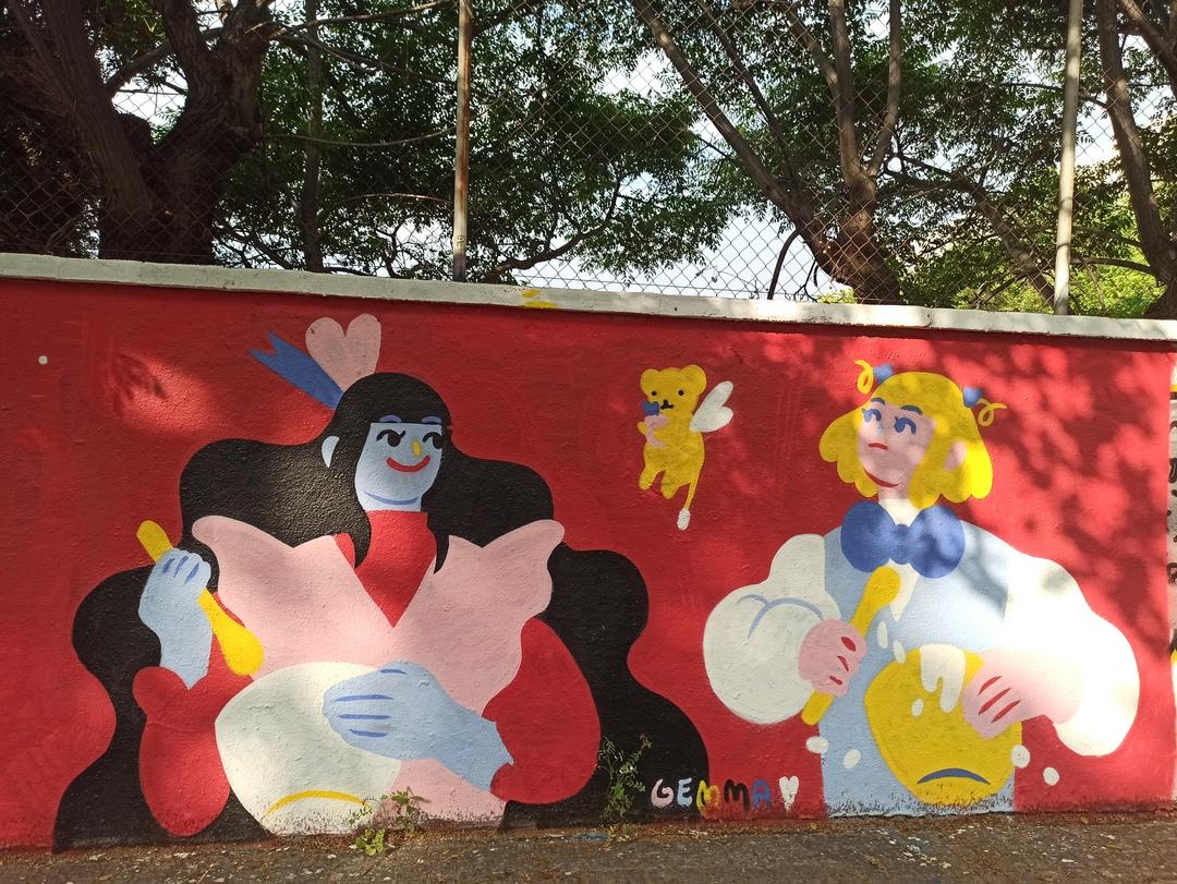 Wallspot - evalop - evalop - Proyecto 30/05/2020 - Barcelona - Agricultura - Graffity - Legal Walls - Illustration - Artist - gemfontanals