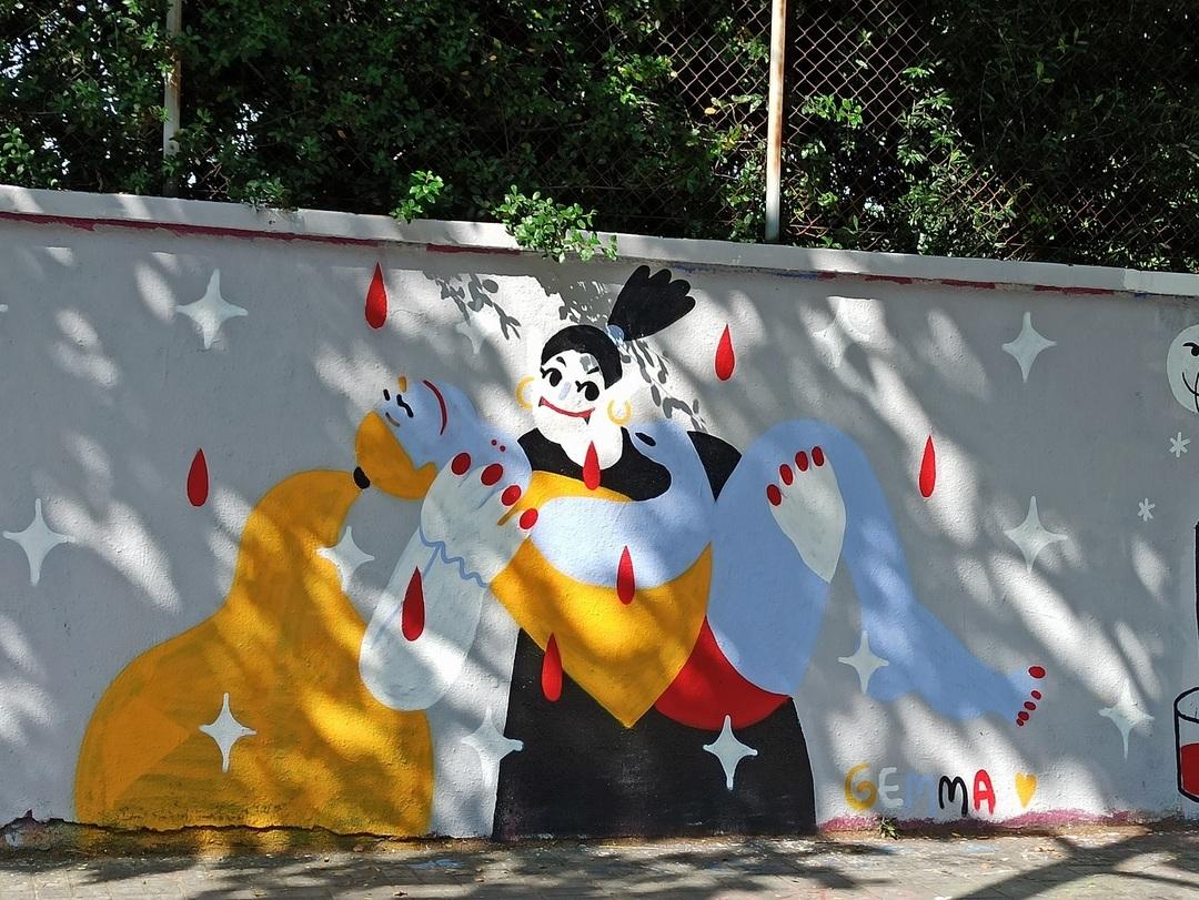 Wallspot - evalop - evalop - Project 20/06/2020 - Barcelona - Agricultura - Graffity - Legal Walls - Illustration - Artist - gemfontanals