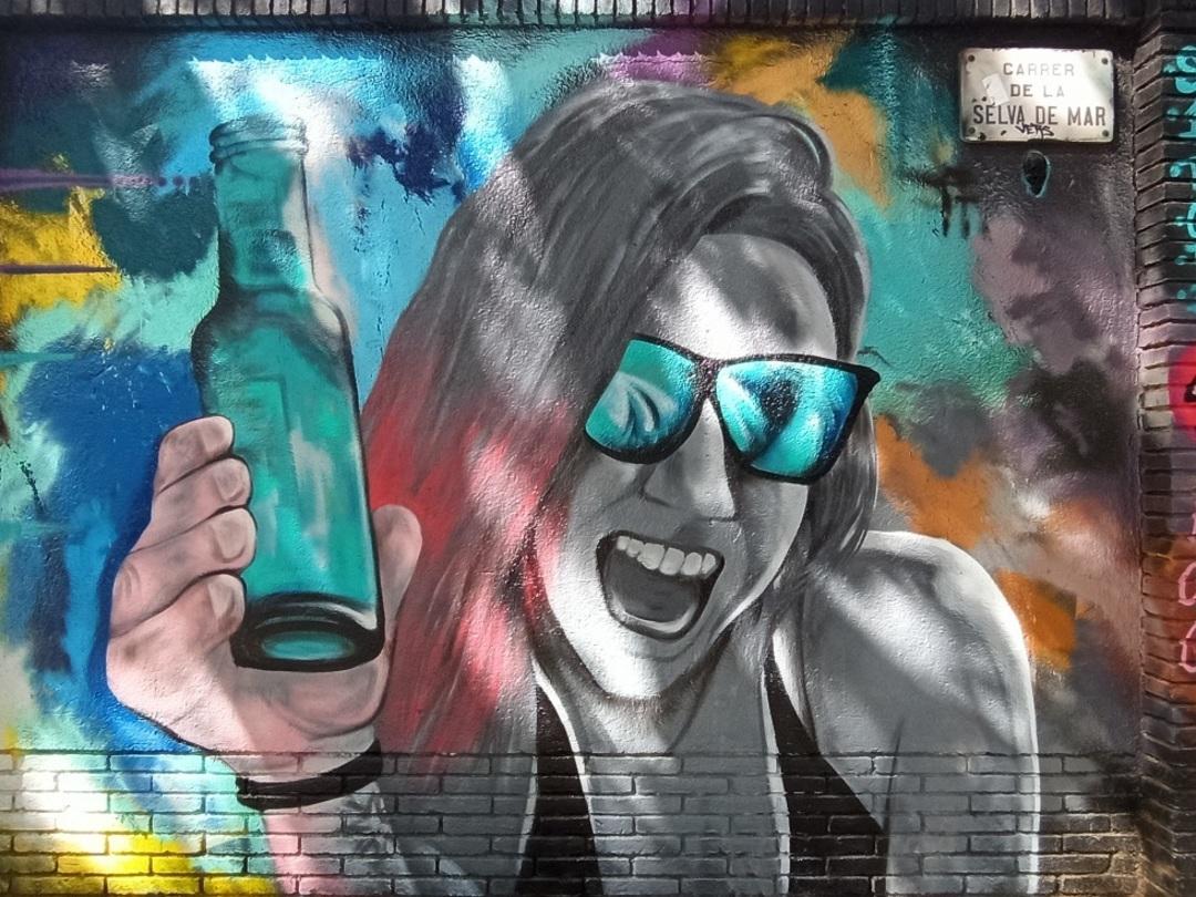 Wallspot - evalop - evalop - Project 26/06/2020 - Barcelona - Selva de Mar - Graffity - Legal Walls -  - Artist - ABSURE2000