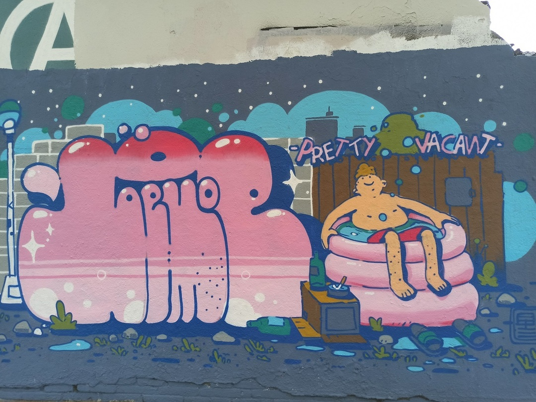 Wallspot - evalop - evalop - Project 14/07/2020 - Barcelona - Agricultura - Graffity - Legal Walls - Illustration - Artist - bemie