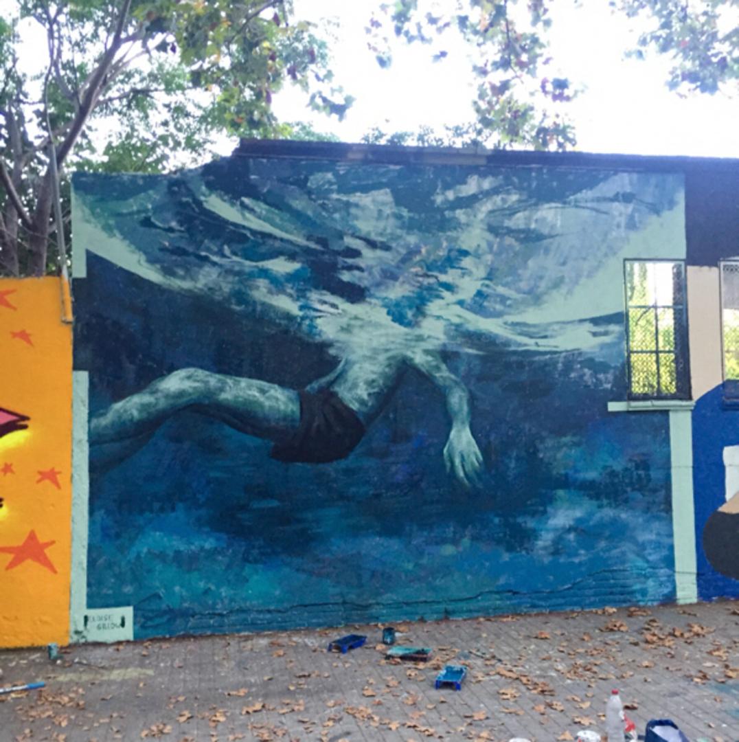 Wallspot - Eloise Gillow -  - Barcelona - Agricultura - Graffity - Legal Walls -