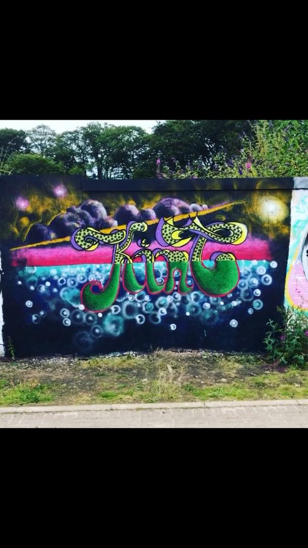 Wallspot - kinc - Kinc @ Donside - Aberdeen - Donside Village - Graffity - Legal Walls - ,