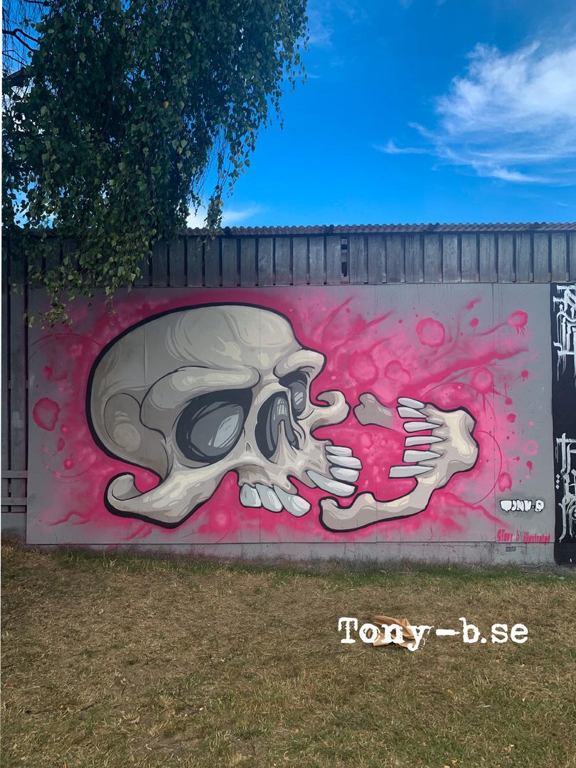 Wallspot - Tony-b -  - Göteborg - Draken - Graffity - Legal Walls -