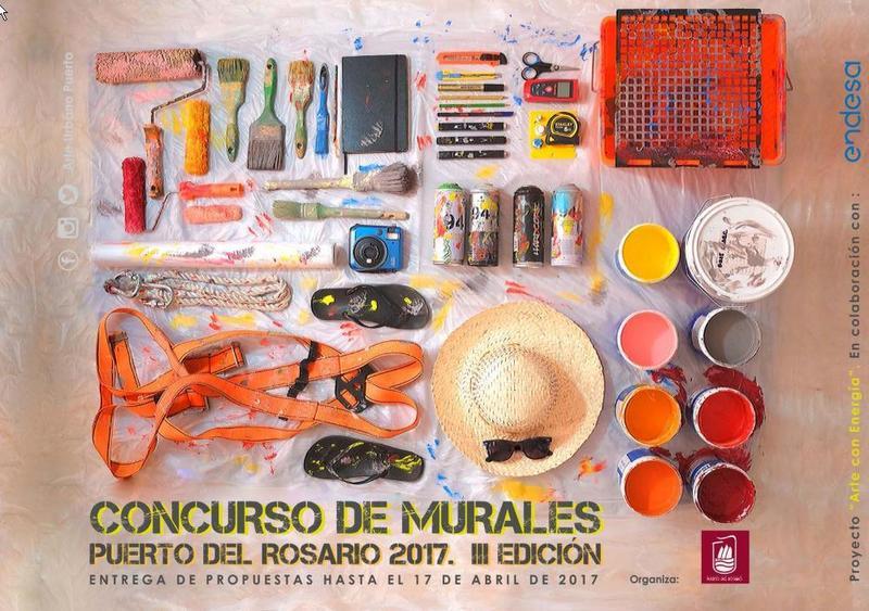 Wallspot Post - III Concurso de Murales de Arte Urbano de Puerto del Rosario