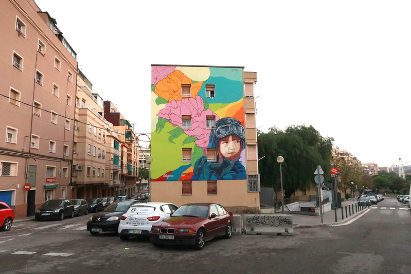 Wallspot Post - Btoy - Hospitalet